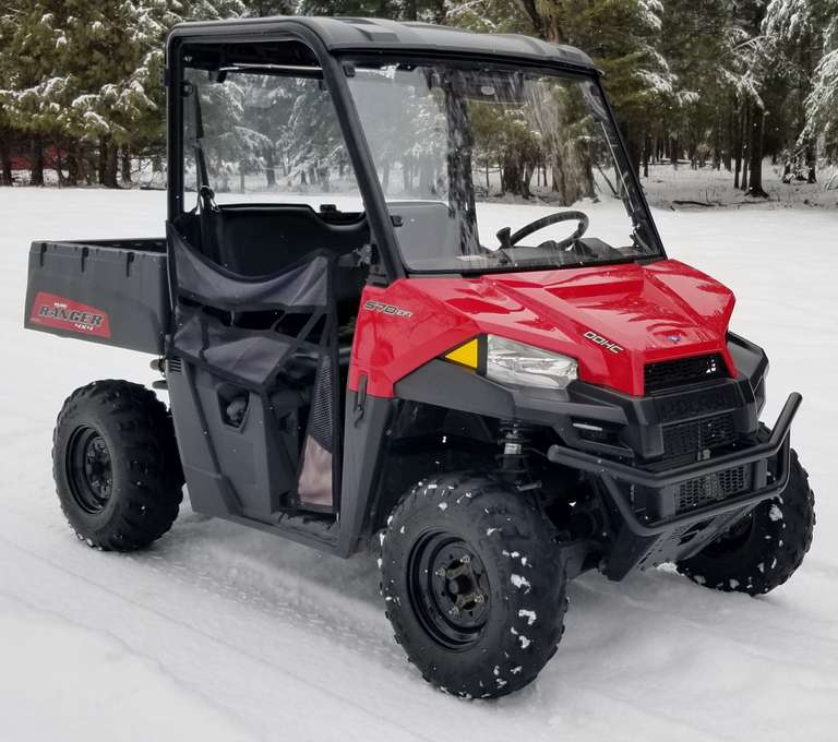2016 Polaris Ranger 570, (656 Hours, 5975 Miles), Newer Tires, Runs Great, Clean and Clear Title