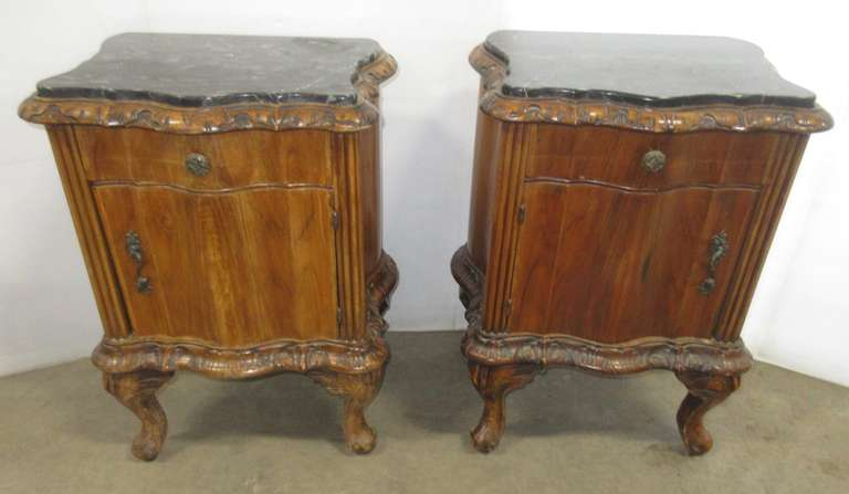 (2) Antique Night Stands