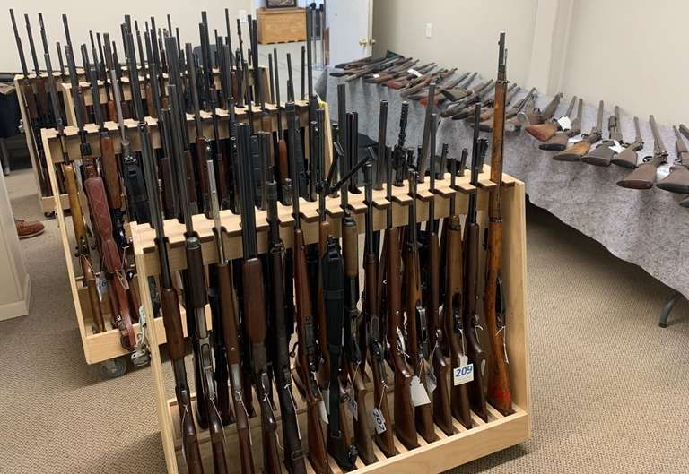 February 9th (Tuesday)  Firearm and Ammunition Online Auction