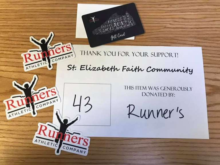 Runner's $25 Giftcard with Decals