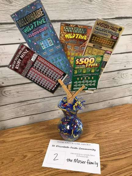Scratch-Off Lotto Tree