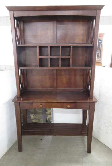 Decorative Wood Dining Cabinet, Holds Six Wine Bottles