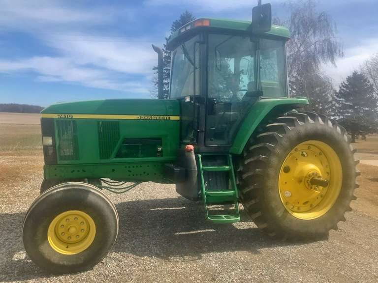 John Deere 7410 Tractor, (2291 Hours), One Owner, Excellent Condition