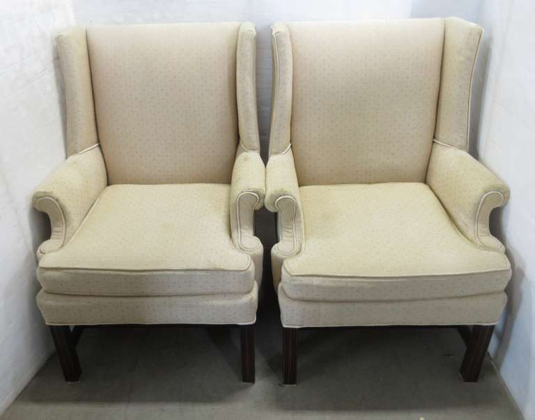 (2) Wingback Chairs