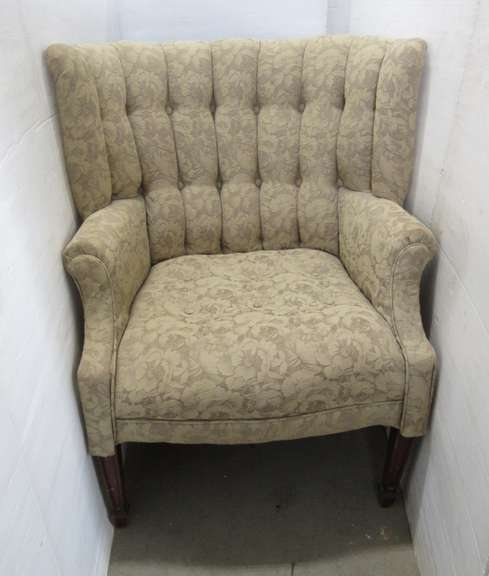 Old Barrel Back Chair