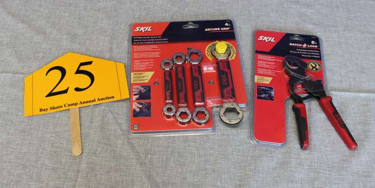 Skil Tools: Pliers and Wrench Set