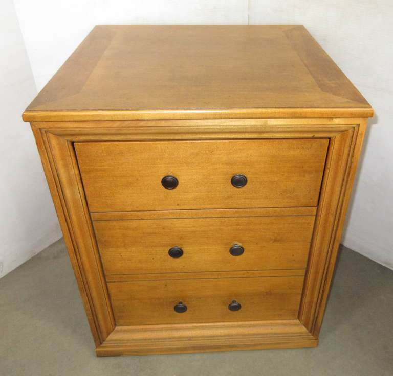 Chest with Hidden Storage Under Top Drawer