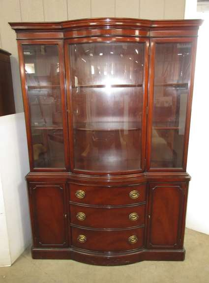 Antique Drexel China Cabinet