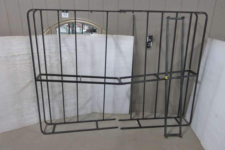 King Size Metal Box Frame