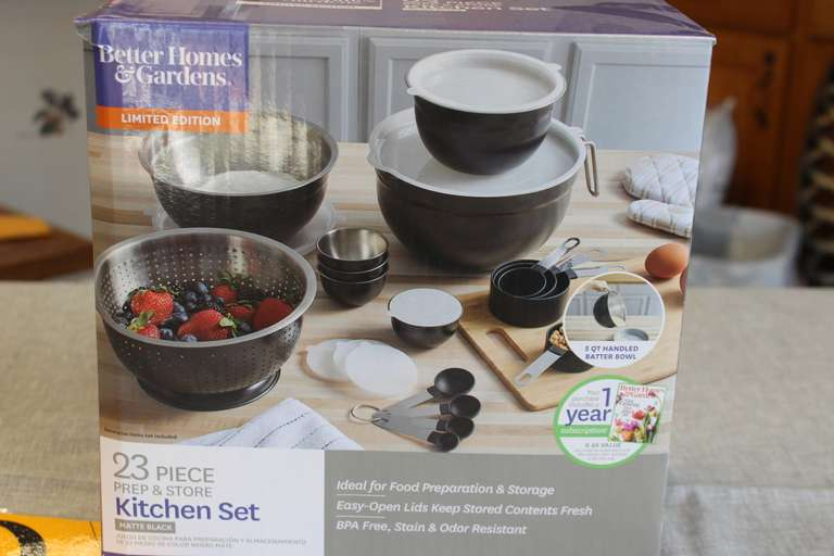 23-Piece Kitchen Bowl Set