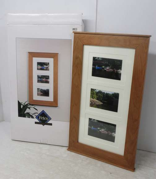 "Collage Frame, Holds Three 4"" x 6"" Pictures"