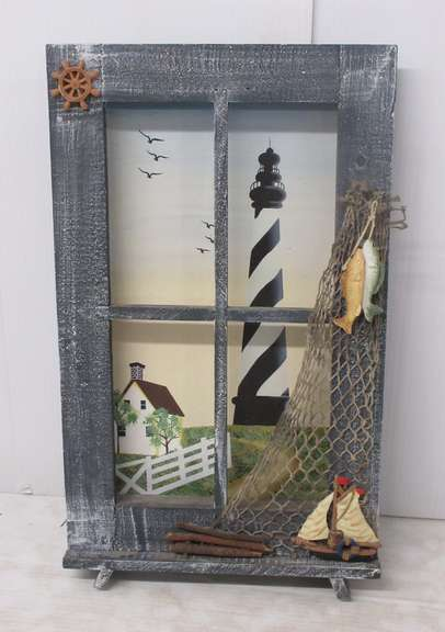Lighthouse Picture Shadow Box