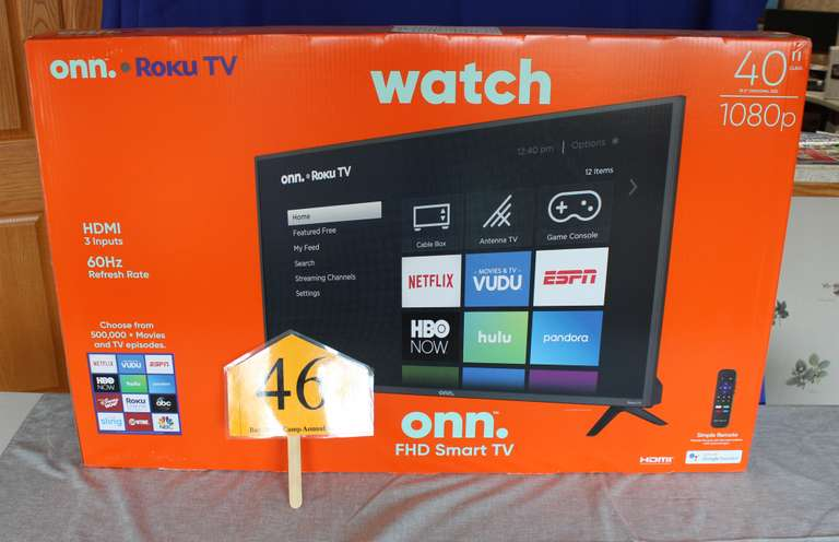 "40"" Smart TV by ONN"