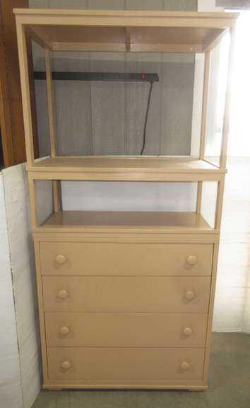 Tall Shelf with Drawers