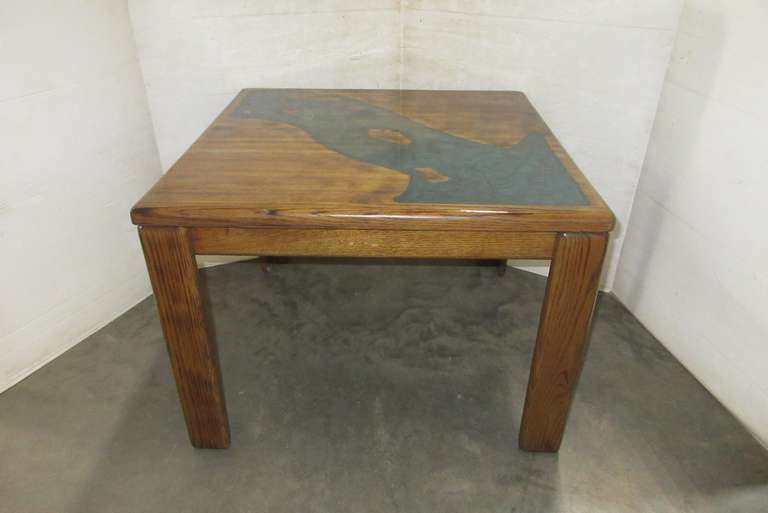 Oak River Table, Custom Built